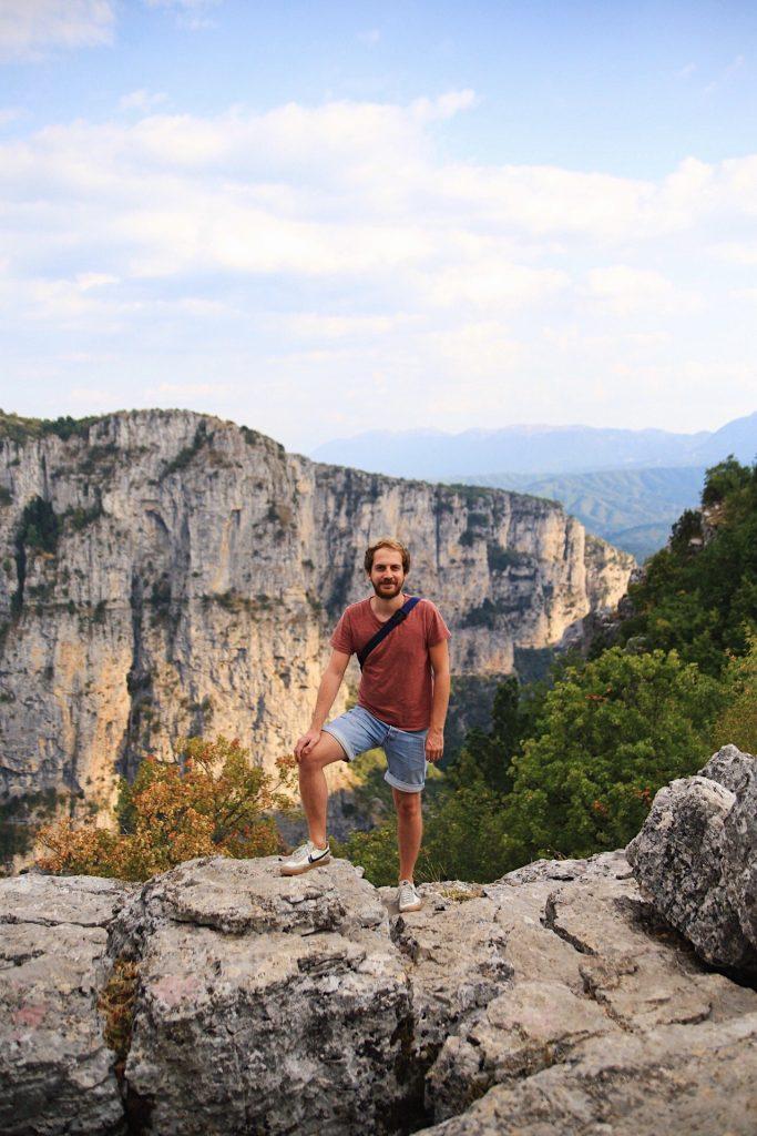Reisspecialist Jelmer in Griekenland