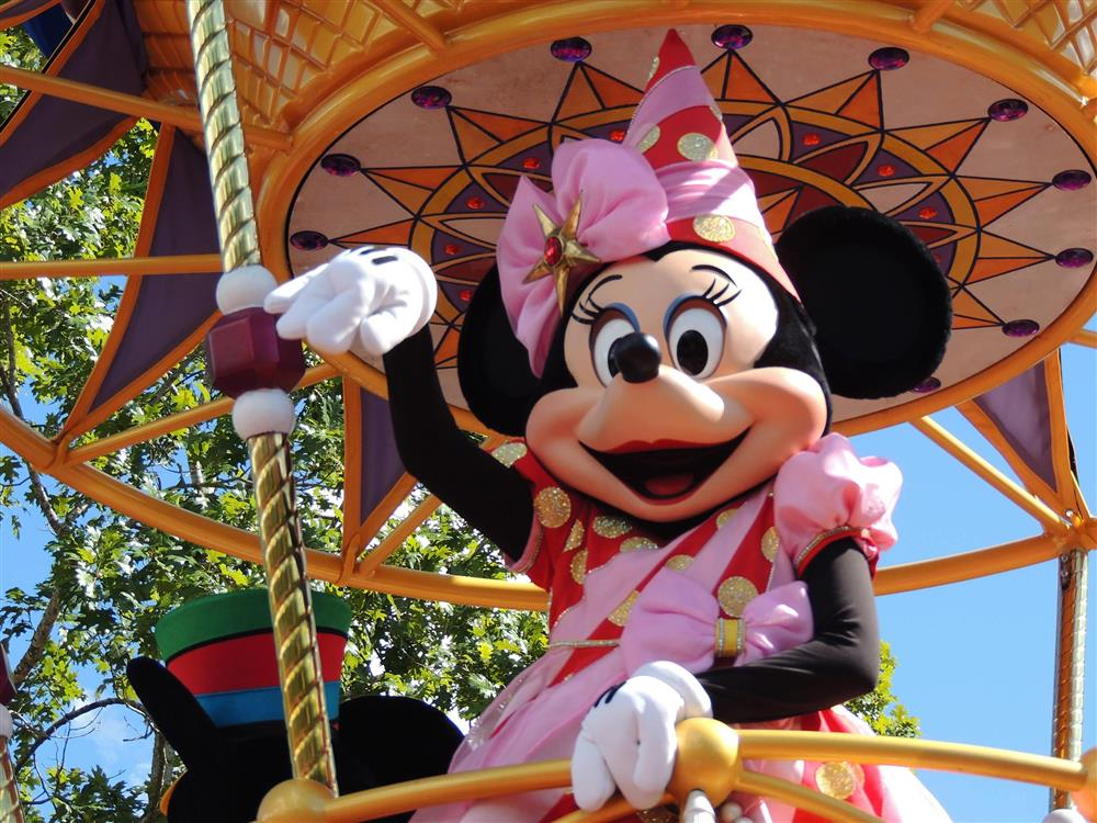 Minnie Mouse in Disney