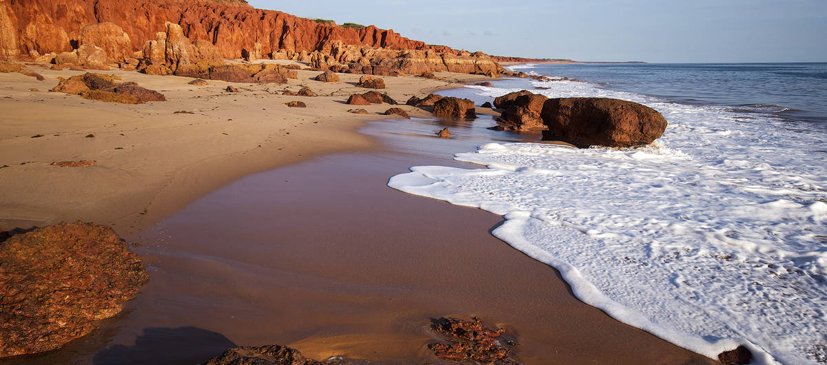 James Price Point bij Broome